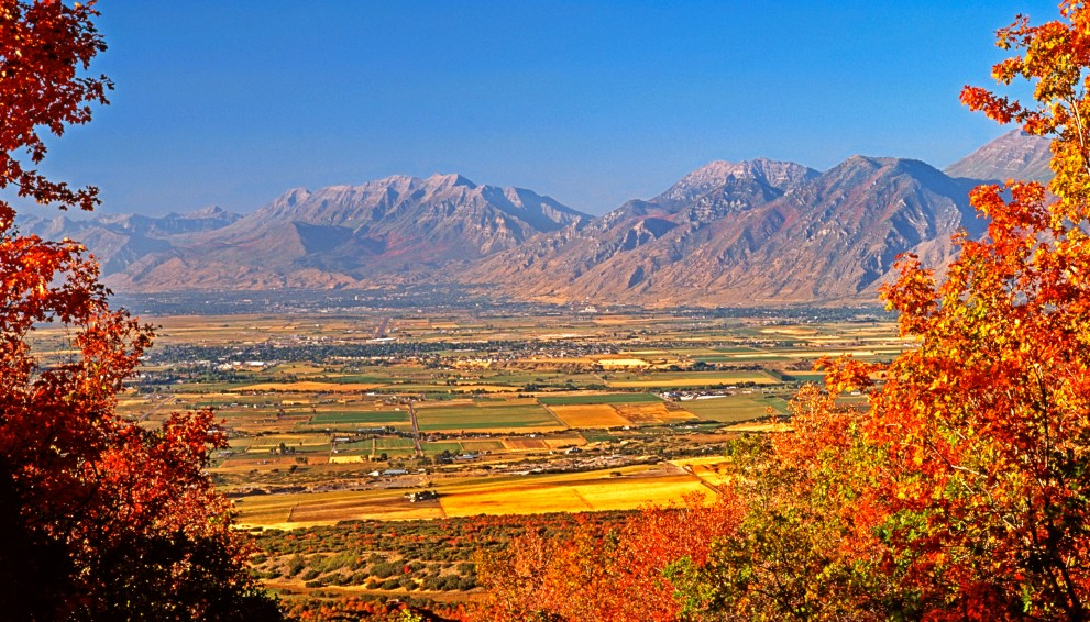Utah Valley in Autumn